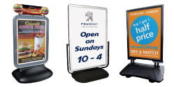 Forecourt (Large Format) Signs